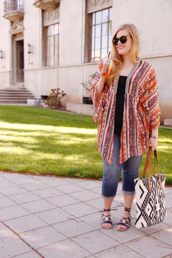 Colorful Casual Summer Look