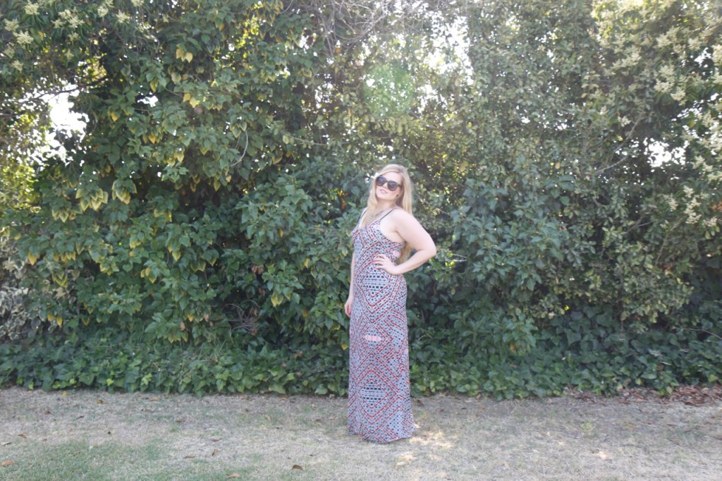 June StitchFix - Maxi Dress