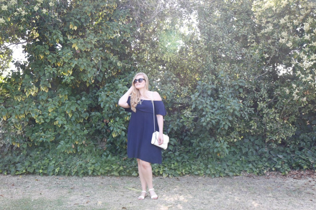 June StitchFix - Off the Shoulder Dress
