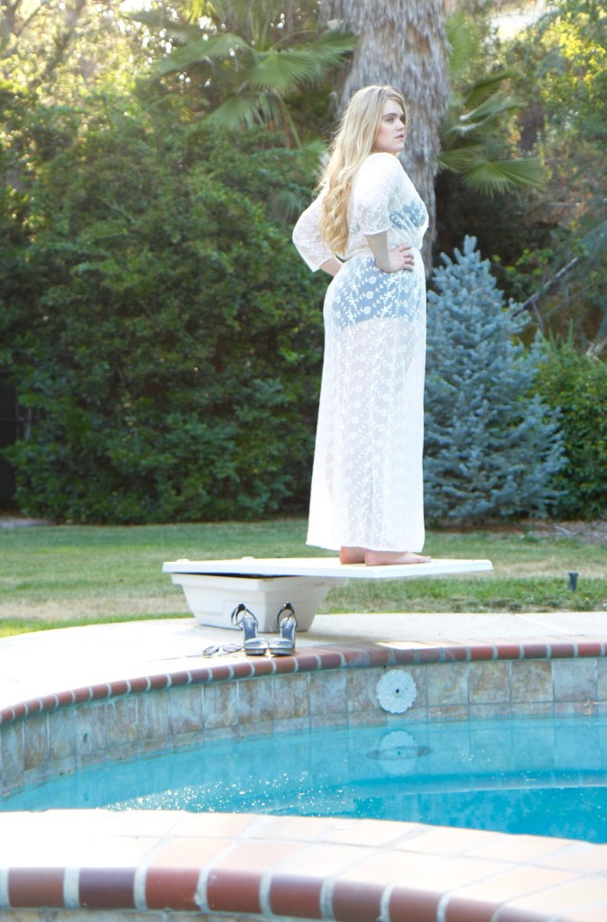 Poolside Glam - Plus Size Swimwear