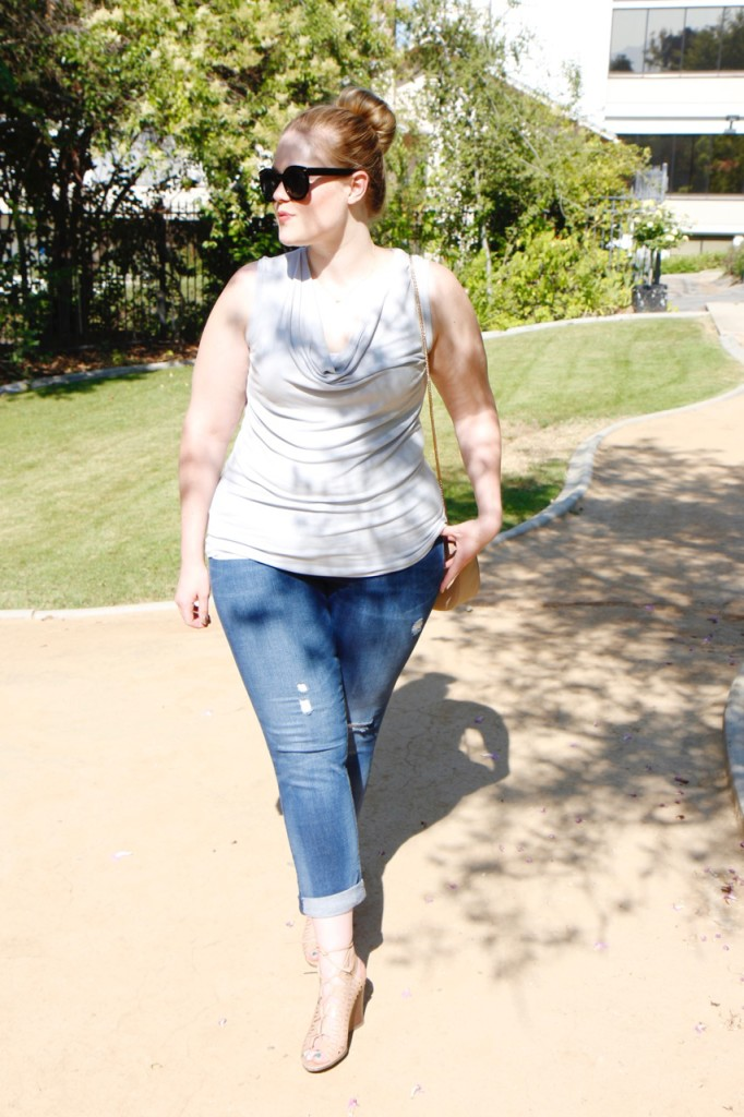 July Stitch Fix - Summer Date Night Look with Jeans