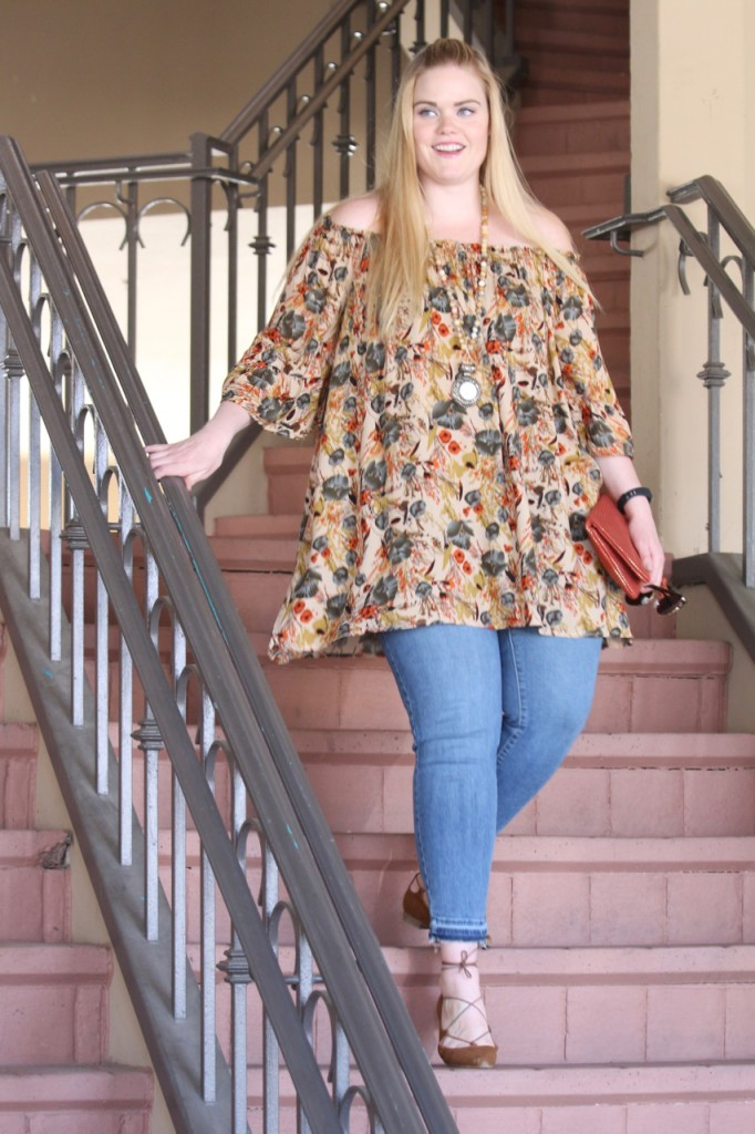 Off-Shoulder for Fall with BohoCheri