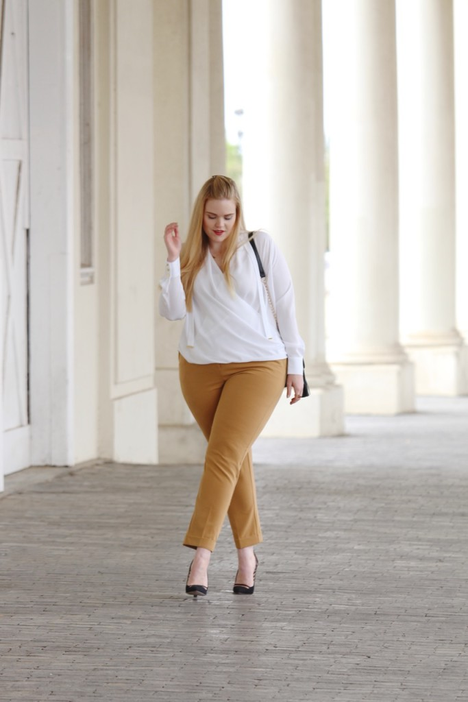 How to Wear White After Labor Day - Simply Be Work Look