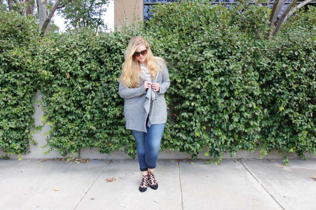 October Stitch Fix - Hooded Cardigan for Fall