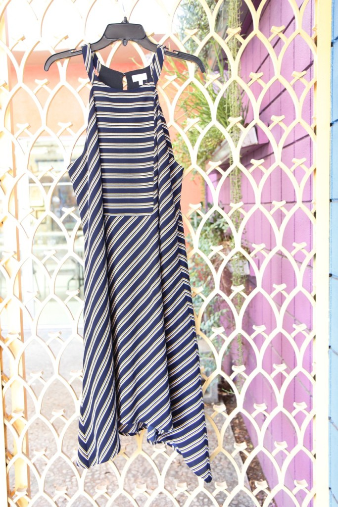 September Stitch Fix - Striped Midi Dress