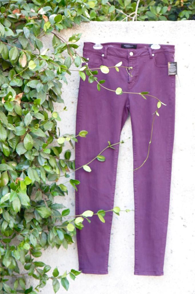September Stitch Fix - Purple Jeans