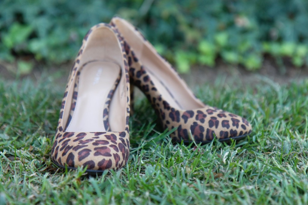 Layering a Midi Dress and a Giveaway! - Leopard Heels