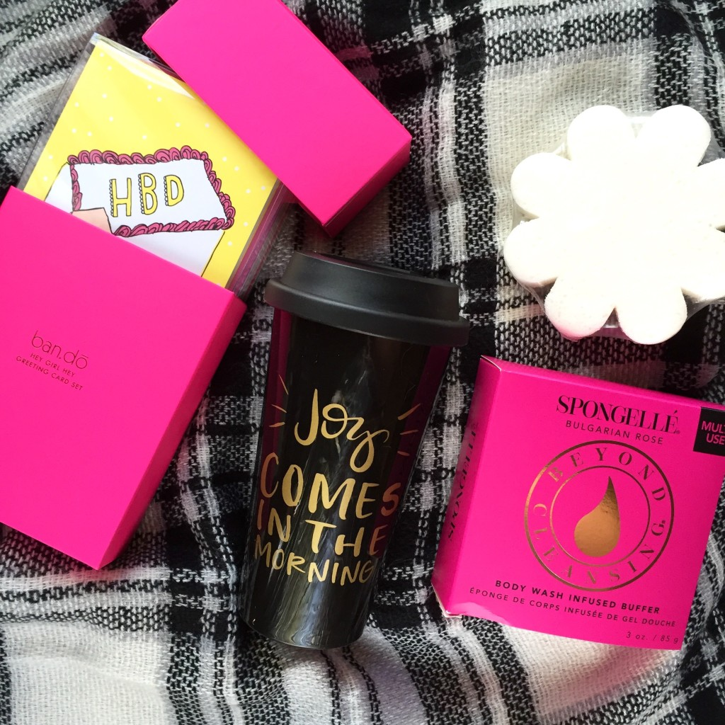 FabFitFun Fall Reveal - Greeting Cards, Coffee Mug, Shower Gel Sponge