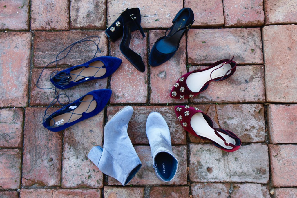 Who What Wear Collection Fall Picks - Velvet & Embellished Shoes