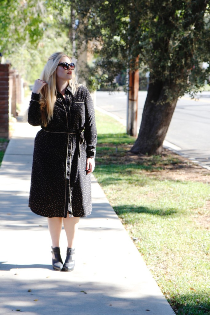 Who What Wear Collection Fall Picks - Pajama Shirtdress