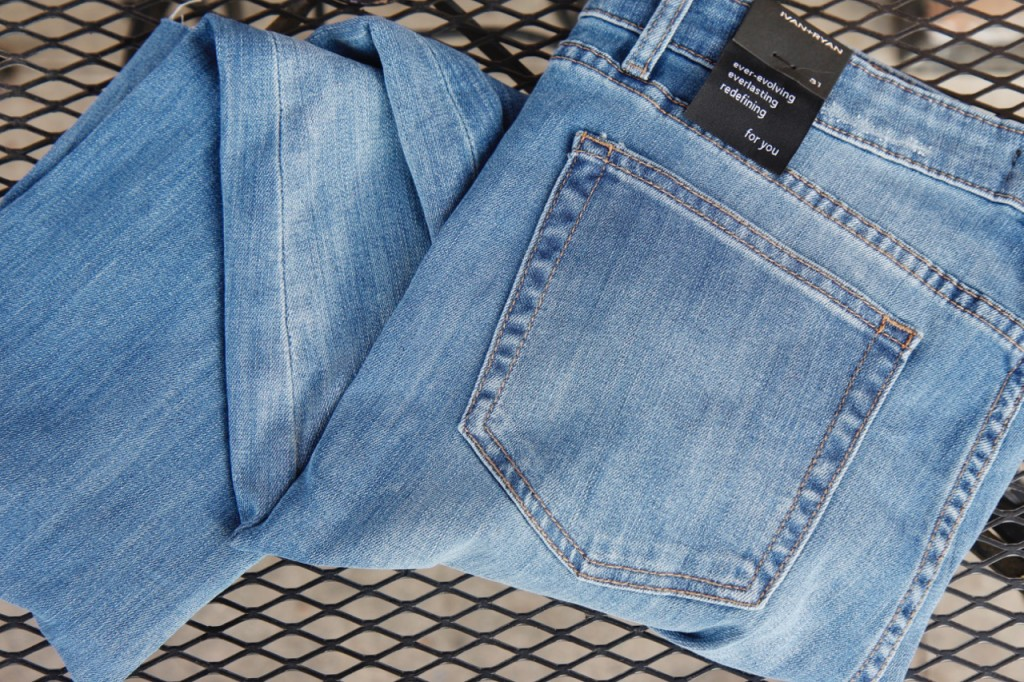 February Stitch Fix - Distressed Jeans