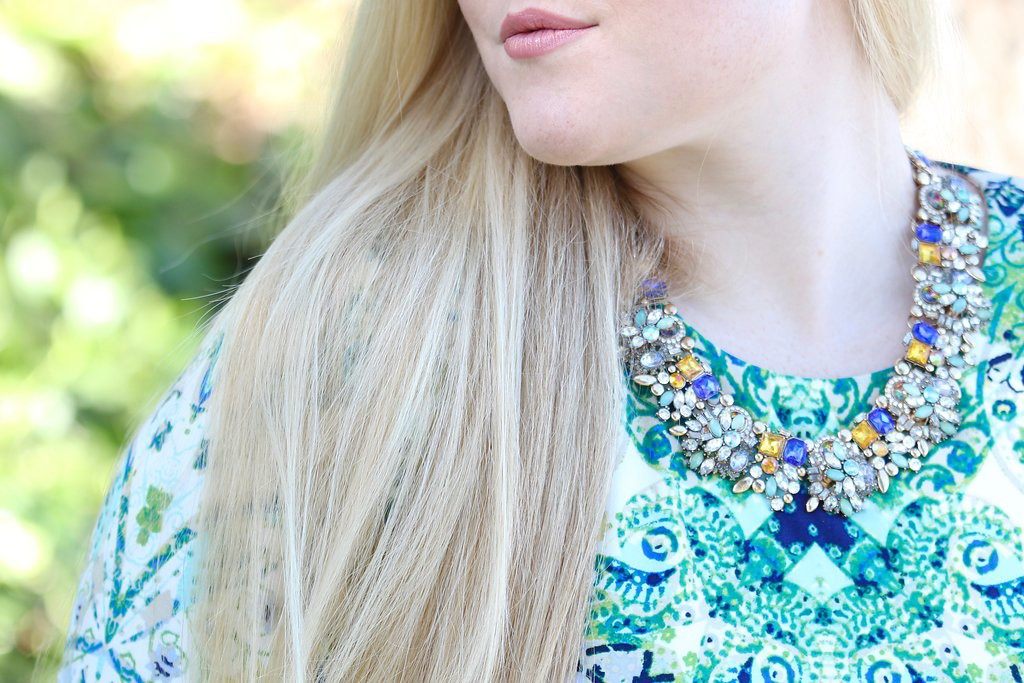 Spring Trends with Maggy London - Statement Necklace