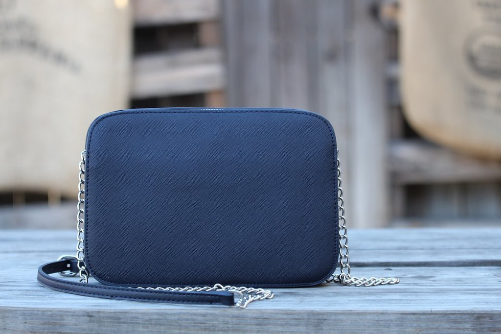 March Stitch Fix - Navy Crossbody Bag