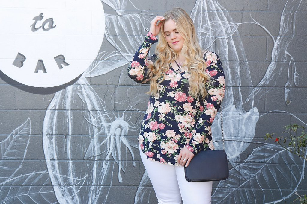 Crisscross Florals with I Shop Simply