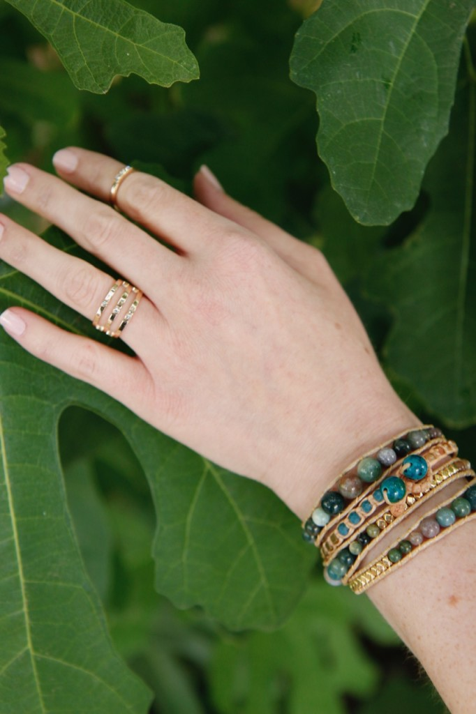 Casual Boho Style with Ellie & Adair - Beaded Wrap Bracelets