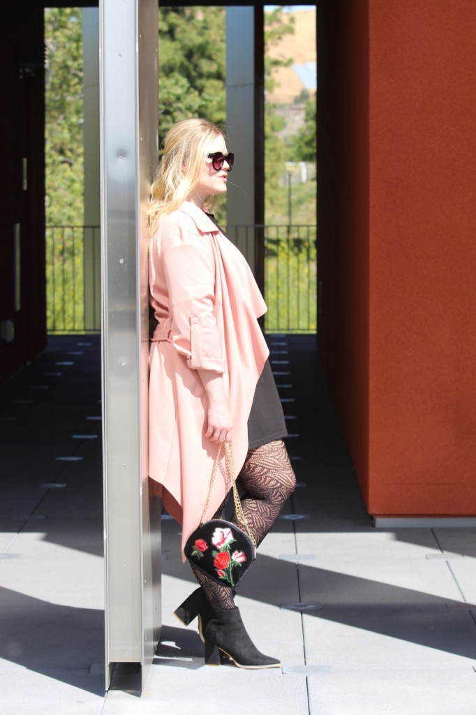 In the Style Spring Collection - Blush Trench