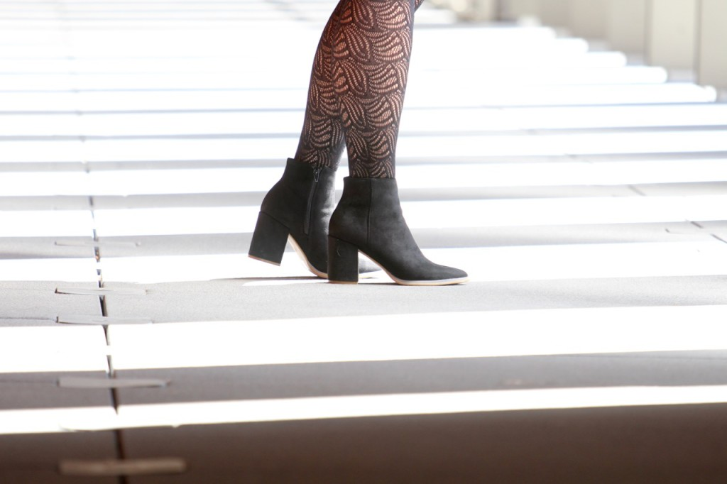 In the Style Spring Collection - Ankle Boots and Tights