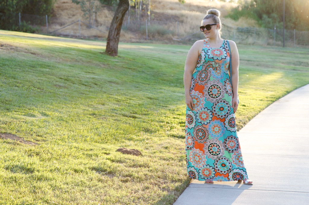 Summer Brights Maxi Dress - The Mint Julep Boutique