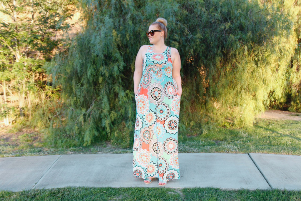 Summer Brights Maxi Dress - Mint Julep Feelin Active