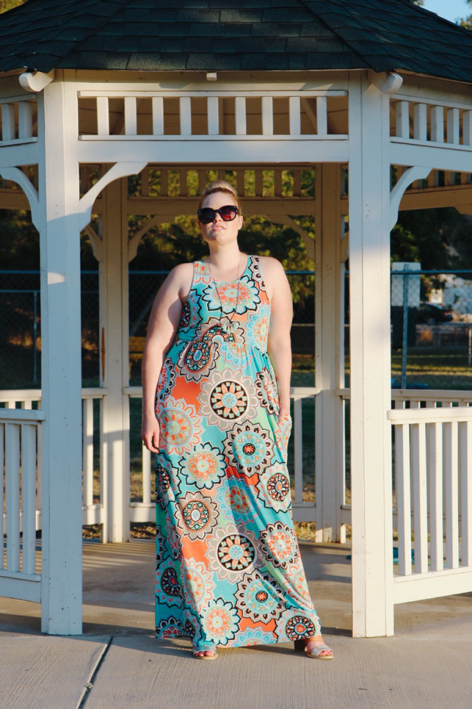 Summer Brights Maxi Dress - Mint Julep Boutique