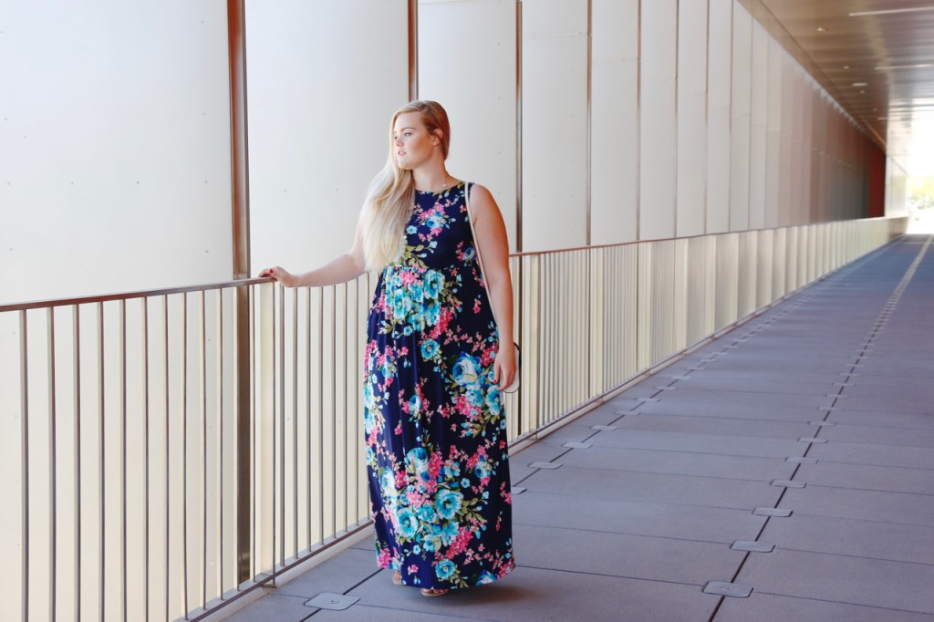 Summer Maxi Dress for Plus Sizes