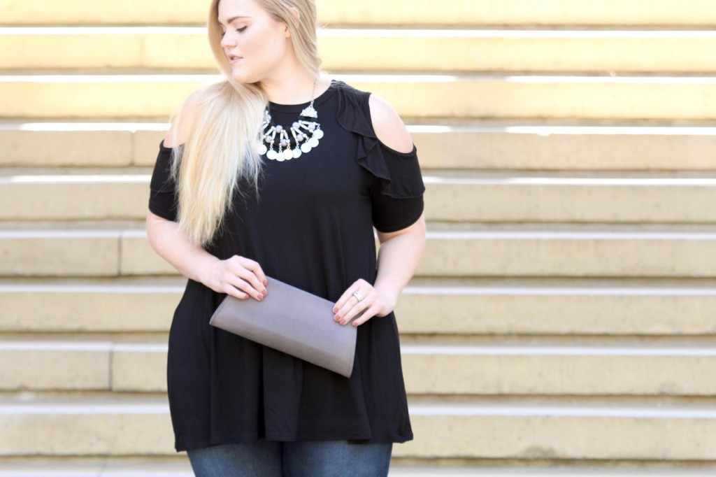 Cold Shoulder Vibes - Outfit Details