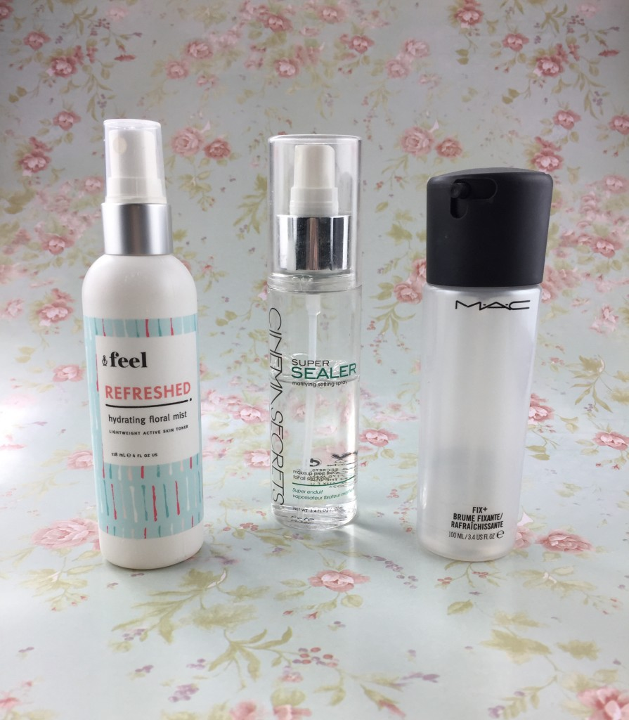 Makeup Misting Spray - This is Feel, Cinema Secrets, Mac Fix+